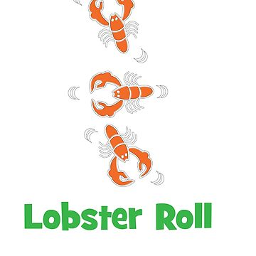 Lobster T-shirt for Men, Women and Kids Lobster roll by Customdesign200