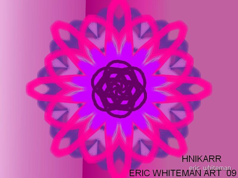 ( HNIKARR ) ERIC WHITEMAN ART  by eric  whiteman