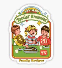 Let's Make Brownies Sticker