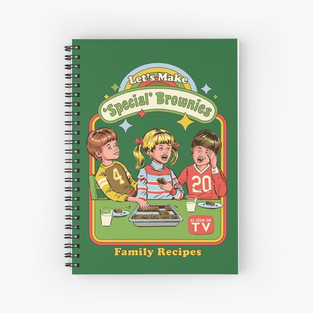 Let's Make Brownies Spiral Notebook
