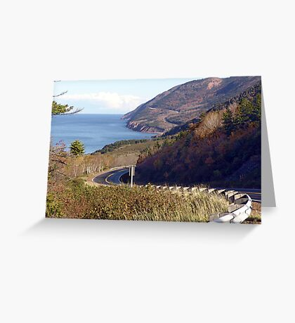 Road to the Highlands Greeting Card