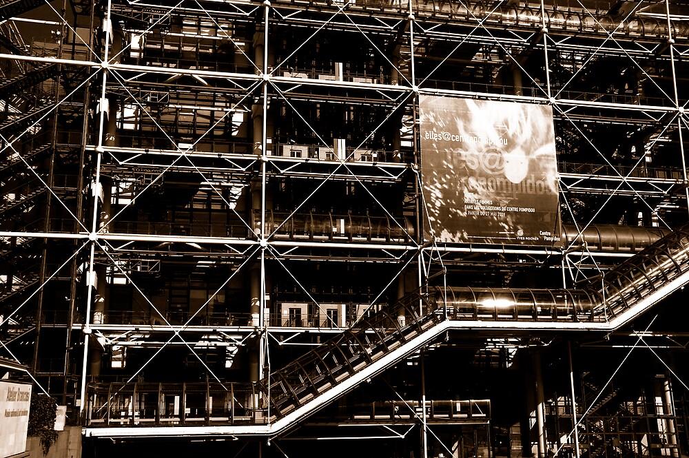 pompadou centre paris  by Jo  Kyles