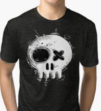Voodoo Skull t-shirt Tri-blend T-Shirt
