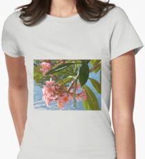 Frangipani 10 Women's Fitted T-Shirt