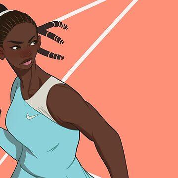 Serena Williams by Skyfisher