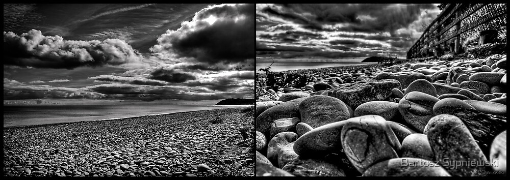 rocky beach by Bartosz Sypniewski
