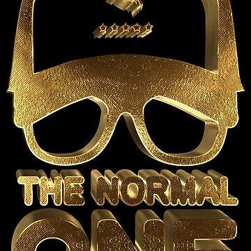 The Normal One Jurgen Klopp Golden by Under-TheTable