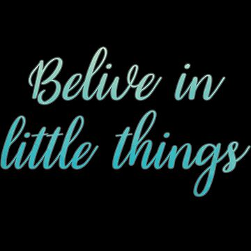 deep quotes little things by untagged-shop