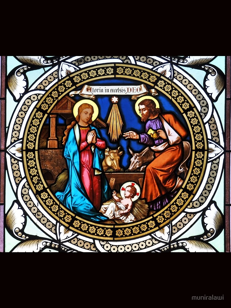 Holy Nativity Stained Glass de muniralawi