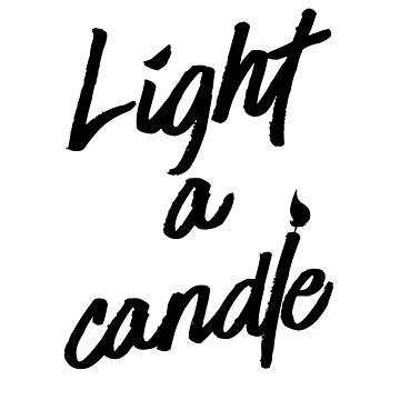 Light a Candle (v2) by BlueRockDesigns