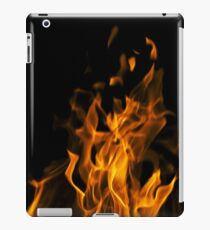 Fire in the dark iPad Case/Skin