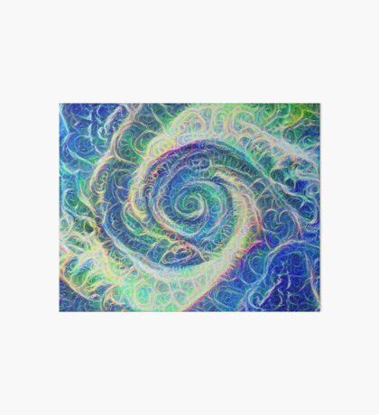 Vortex dragon #DeepDream B Art Board Print