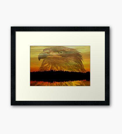 Autumn Reflections ll Framed Print