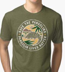Rette die Pangolins, Pangolin lebt von Bedeutung Vintage T-Shirt