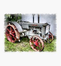 1935 Vintage Case Tractor Photographic Print