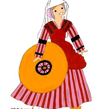 Dome Costume, AUVERGNE, France by Folklore