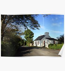 Rural Clare cottage Poster