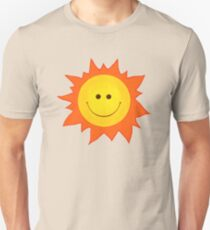 Cute Happy Sun Pattern Unisex T-Shirt