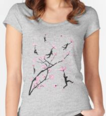 Blossom Flight Women's Fitted Scoop T-Shirt