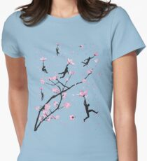 Blossom Flight Women's Fitted T-Shirt