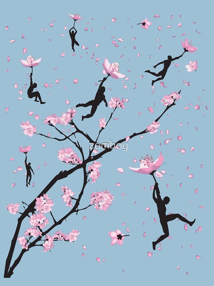 Blossom Flight by zomboy