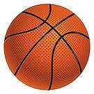 Basketball Ball von AnnArtshock