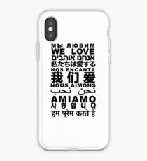 Yandhi - We Love In All Languages iPhone Case