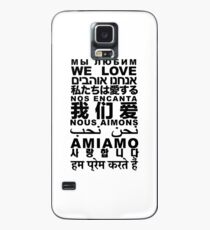 Yandhi - We Love In All Languages Case/Skin for Samsung Galaxy