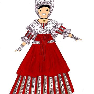 Costume of AQUITAINE by Folklore