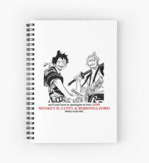 Luffy und Zoro Wano Kuni Arc Spiralblock