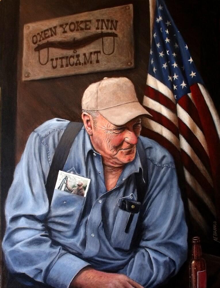 A True American Cowboy by A. F. Branco