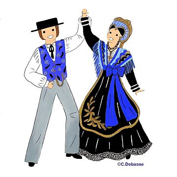 Traditional costumes from SAVOIE, France by Folklore