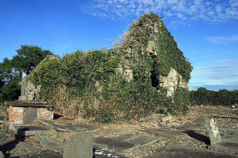 Killimer church ruins by John Quinn
