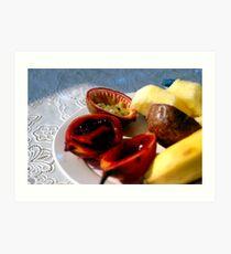 Rwandan Fruit Art Print
