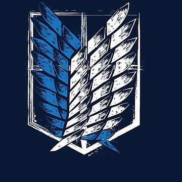 Attack On Titan Logo by MelenchonJTM