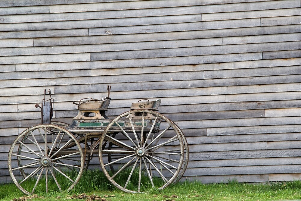 The old carriage by Jennifer Saville
