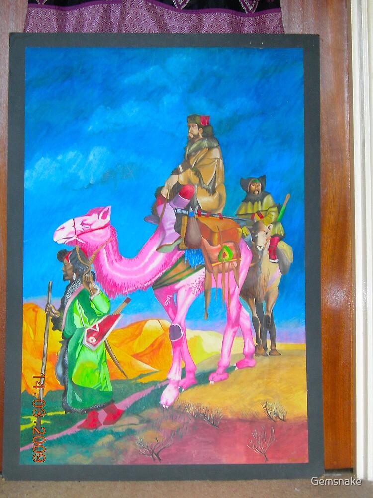 The Pink Camel by Gemsnake