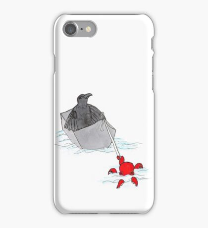 Octopus Tows Crow iPhone Case/Skin