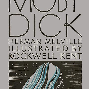Moby Dick Herman Melville First Edition Cover by buythebook86