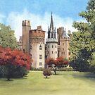 Cardiff Castle by Helen Lush