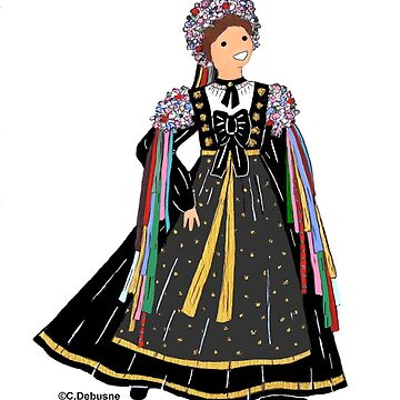 ALSACE wedding dress, France by Folklore