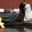 Grave of Unknown Soldier by Christine  Wilson