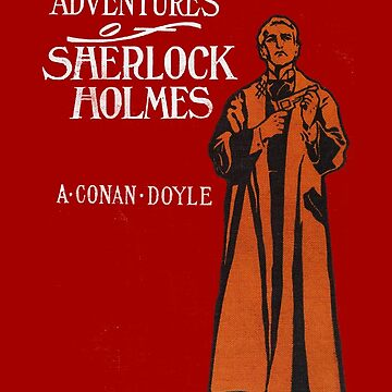 The Original Sherlock Holmes First Edition Cover by buythebook86
