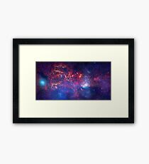 Space, the final frontier Framed Print