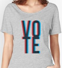Vote Women's Relaxed Fit T-Shirt