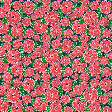 Camellia pattern by BlueVein