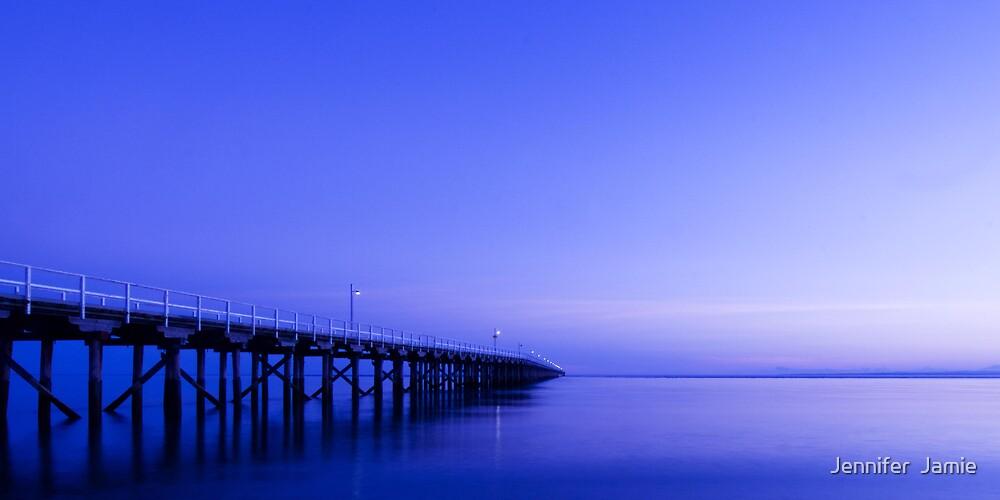 Urangan Pier, Hervey Bay by Jennifer  Jamie