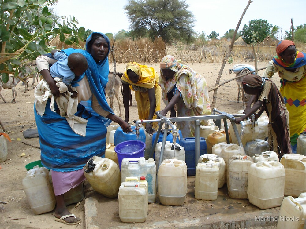 Water in Darfur by Martina Nicolls