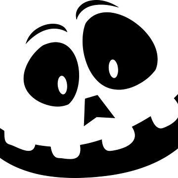 Halloween Pumpkin Smiling by MartinV96