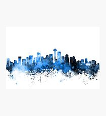 Seattle Washington Skyline Fotodruck